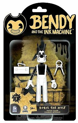Bendy And The Ink Machine Borris The Wolf Action Figure Series 1