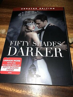 Fifty Shades Darker DVD Romance Dakota Johnson Edition 2017 Unrated Edition