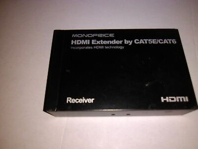 Monoprice Hdmi Extender By Cat5E/cat6 Box
