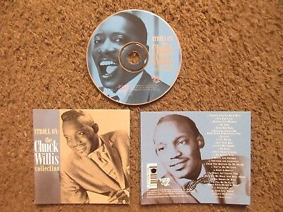 "Chuck Willis ""stroll On The Chuck Willis Collection"" 1994 Ex.cond.out Of Print"