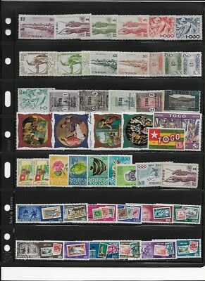 Togo stamp collection lot 31