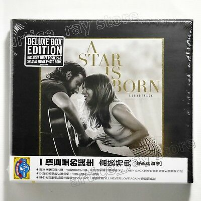 OST O.S.T Lady Gaga A Star Is Born Taiwan CD OBI Deluxe Bradley Cooper 2018 NEW