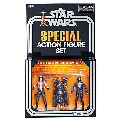 Hasbro SDCC 2018 Star Wars Vintage Collection Doctor Aphra Comic Set Exclusive