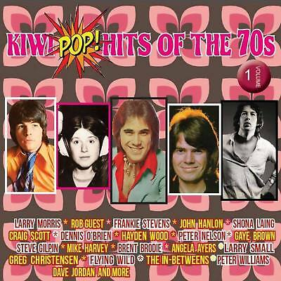 Kiwi Pop Hits of the 70s Volume 1 Various Artists CD NEW unsealed