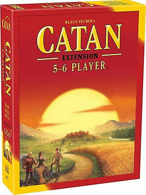 New Setter's Catan Board Game 5th Edition 5-6 Player Extension Expansion
