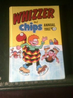 Whizzer and Chips Annual 1982, Published 1981, Vintage Book