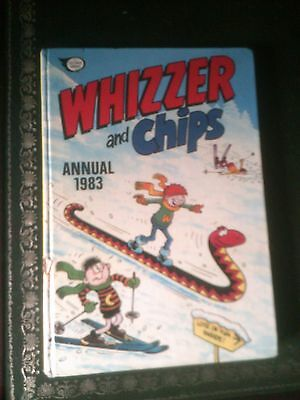 Whizzer and Chips Annual 1983, Published 1982, Vintage Book