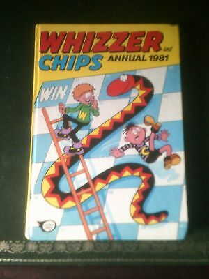 Whizzer and Chips Annual 1981, Published 1980, Vintage Book