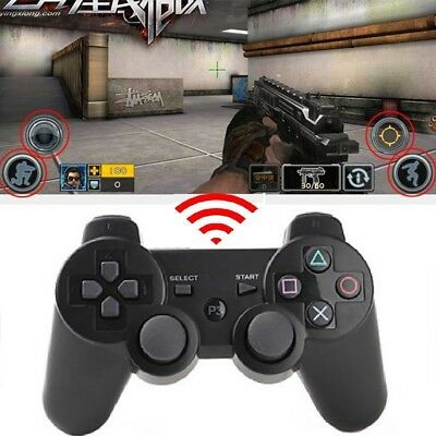 Bluetooth Wireless Game Controller Gamepad Joystick for PlayStation PS3 Gift UK