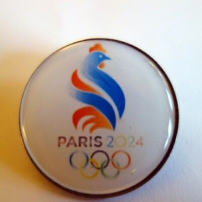 rare large METAL pin badge french olympic games 2024 France PARIS 2024 JO