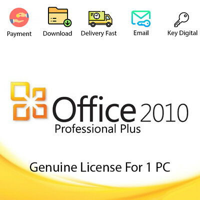 Office 2010 32-64bit Download Activation Code For 1 PC Genuine