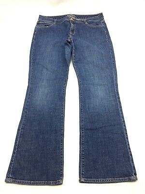 Old Navy Womens Jeans Size 14 The Dreamer Boot Cut Blue Denim