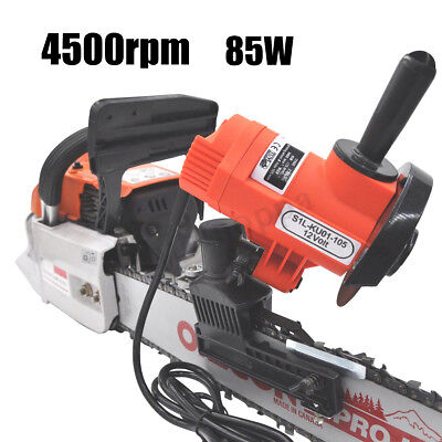 12V 85W 4500RPM Bar Mounted Electric Chainsaw Chain Saw Blade Grinder