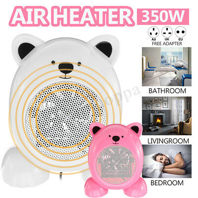 350W Mini Electric Heater Fan Hand Air Warmer Home Office Portable Space Heater