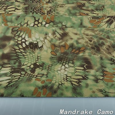 """Mandrake Camouflage Cotton Blend Army Military 60""""W Fabric Cloth for uniform"""