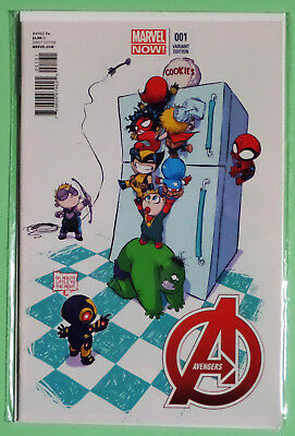 Avengers #1 Skottie Young Variant. First Print. Rare