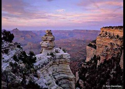 Gift Certificate For Four People....2 Adults And 2 Children Grand Canyon Sight