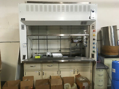 6' St. Charles Chemical Fume Hood with Bench