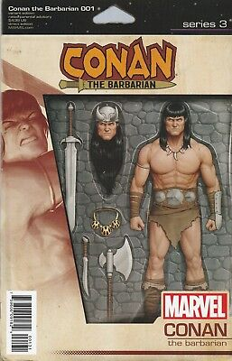 Conan The Barbarian  #1 - Action Figure Variant Cover VF+ / NM