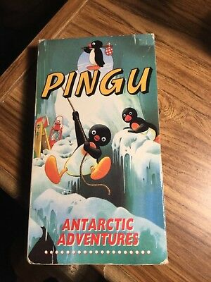 Pingu- #1 and # 3 -     2 VHS - Not Tested See Pics