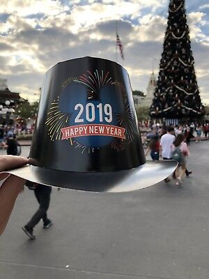 2019 Walt Disney World New Years Black Hat