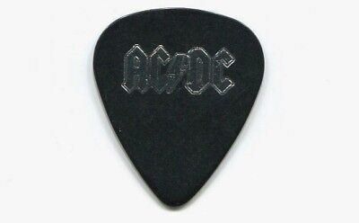 AC/DC 2009 Black Ice Tour Guitar Pick!!! MALCOLM YOUNG custom concert stage Pick