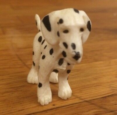 Puppy In My Pocket Black & White Spotty Dalmatian Dog Figure