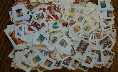 600 2Nd & 500 1St Class Christmas Unfranked Stamps On Paper Great Condition