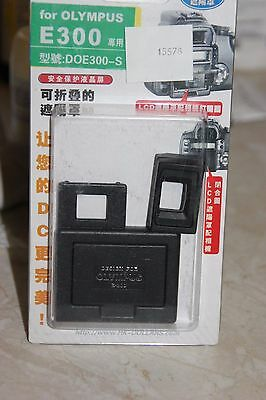 Olympus E300 Dslr Camera Lcd Hood And Screen Protector Bnib