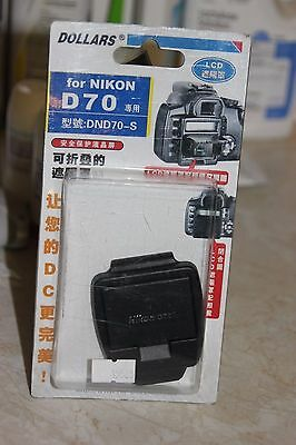Nikon D70 Dslr Camera Lcd Hood And Screen Protector Bnib