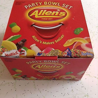 ALLENS PARTY BOWL SET (ORIGINAL BOX) Brand New!