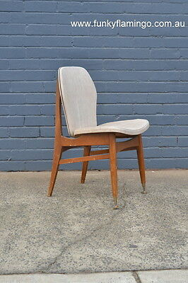 Mid century  Chiswell dining chair Reg 46 wooden chairs  vintage mod 60s