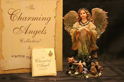 Boyds ~ Charming Angels ~Floramella Guardian Angel of Nature 28216, pe 2310/3000