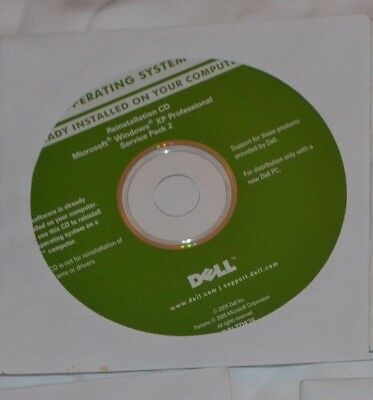 Dell Re-Installation Disk for Windows XP Professional SP 2 CD - New and Unused