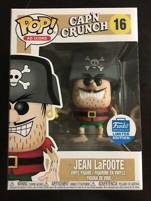 Funko Shop Ad Icons Cap'N Crunch Jean LaFoote Pop! - 16 w/Protector