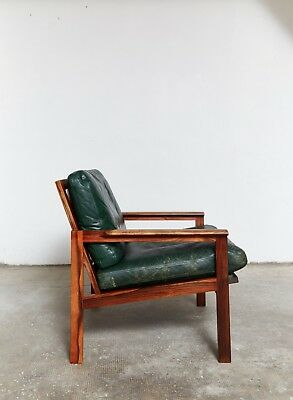 "Illum Wikkelsø Mid-Century Easy Chair Sessel ""Capella"" for Niels Eilersen"
