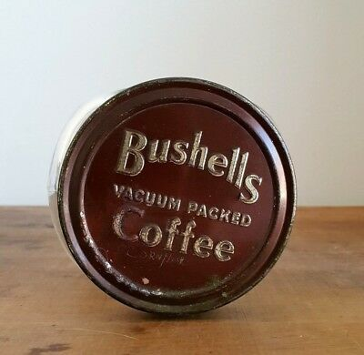 Bushells Jar - grocery - tea & coffee - Bushells tin, Bushells Coffee Jar