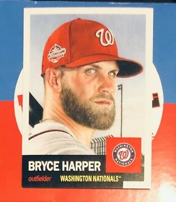 BRYCE HARPER 2018 Topps Living Set #13 1953 Retro Washington Nationals