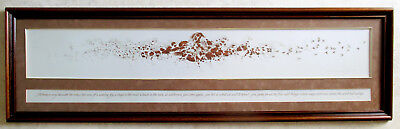 """Bev Doolittle When The Wind Had Wings 51"""" expertlyFramed signed art print"""