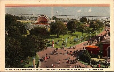 Grounds of Canadian National Exhibition Showing Band Shell, Toronto Postcard I08