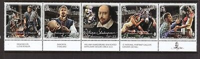Pitcairn Islands MNH 2016 William Shakespeare set mint stamps