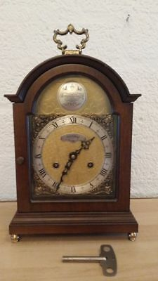 Dutch Warmink Mantel Carriage Clock Shelf Bracket clock, Tempus Fugit