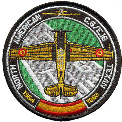 Parche T-6 TEXAN Ejercito Aire España Spanish Air Force Military Patch Army