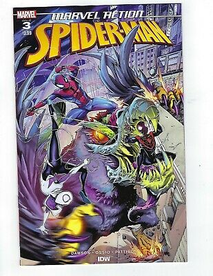 Marvel Action Spider-Man # 3 Cover A NM Pre Sale Ships Apr 17th