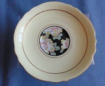 PARAGON Yellow with flowers saucer only Made in England tea cup set