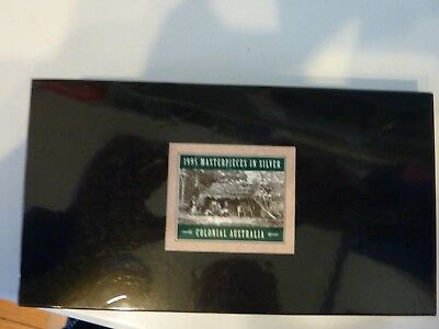 1995 Masterpieces in Silver - *Colonial Australia* 5 coins