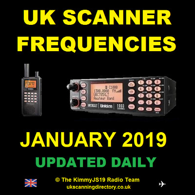 UK SCANNING DIRECTORY January 2019 - Scanner Frequencies CD (Fully Updated)