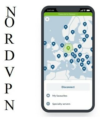 NordVPN ORIGINAL PREMIUM WARRANTY Unlimited Traffic Nord VPN No Logs VPN 2 Years