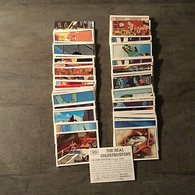 Lot Images Panini THE REAL GHOSTBUSTERS 1988 à choisir!
