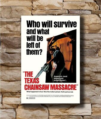 Hot THE TEXAS CHAINSAW MASSACRE Horror Leatherface Art Poster 12x18 24x36 T-2510